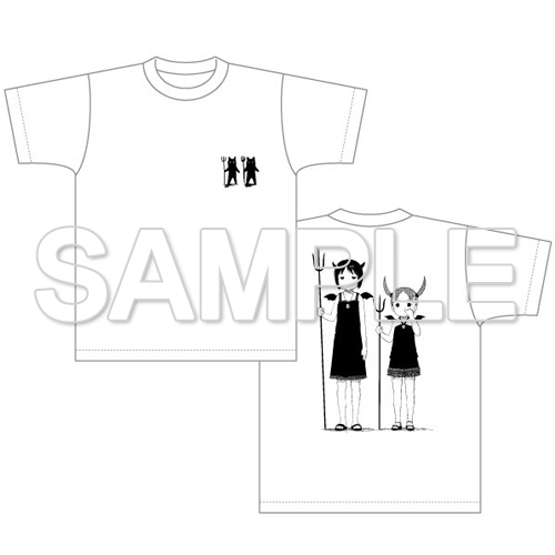 『苺ましまろ』Tシャツ im06ts_w 虫歯菌柄 XL