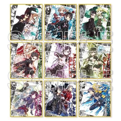 『ソードアート・オンライン』メモリアルトレーディングミニ色紙 コンプリートBOX