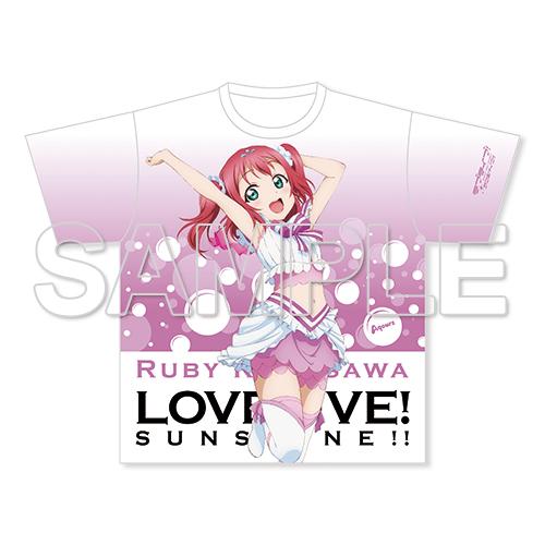 『ラブライブ!サンシャイン!!』フルグラフィックTシャツ 黒澤ルビィ