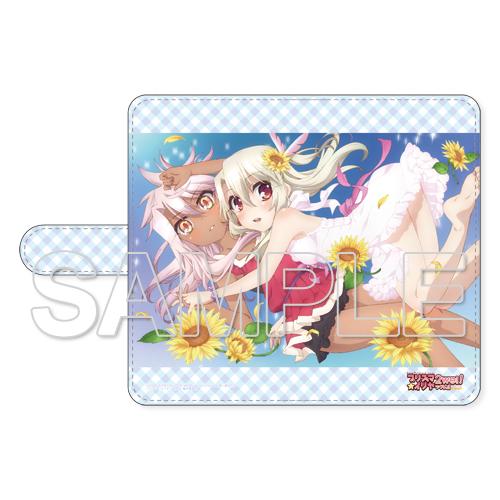『プリズマ☆イリヤ』イリヤ&クロ手帳型スマートフォンケース