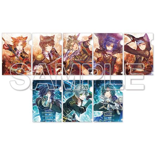 『戦刻ナイトブラッド』真田軍&伊達軍トレーディングミニクリアファイル コンプリートBOX