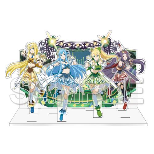 『ソードアート・オンライン』ゲームシリーズ5周年記念アクリルジオラマ Ver.A