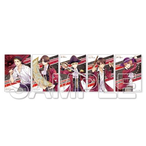 『スタミュ』氷堂れん描き下ろしteam柊ブロマイド5枚セット