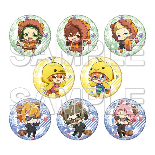 『アイドルマスター SideM 理由あってMini!』トレーディングでか缶バッジ vol.3