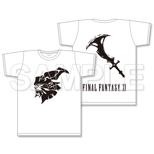 FINAL FANTASY XI 闇の王シルエットTシャツ XL