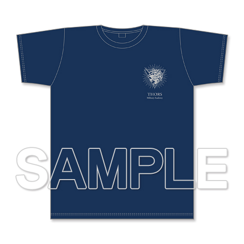 『閃の軌跡』Tシャツ アカデミーブルー XL