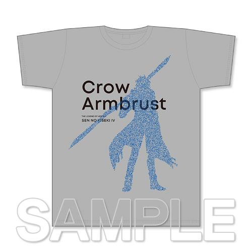 『閃の軌跡IV』Tシャツ クロウ・アームブラスト L