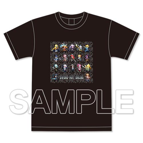 SAOゲームドット フルカラーTシャツ L
