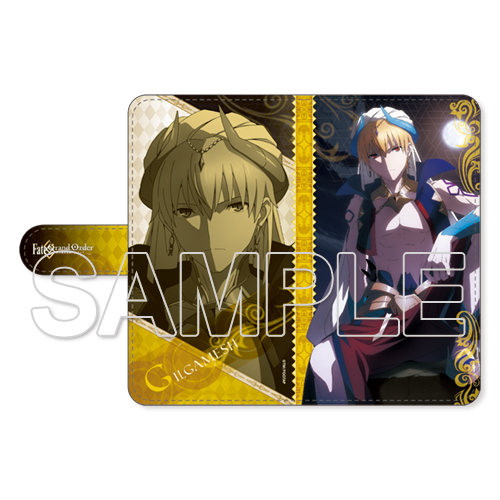 『Fate/Grand Order -絶対魔獣戦線バビロニア-』ギルガメッシュ 手帳型スマートフォンケース