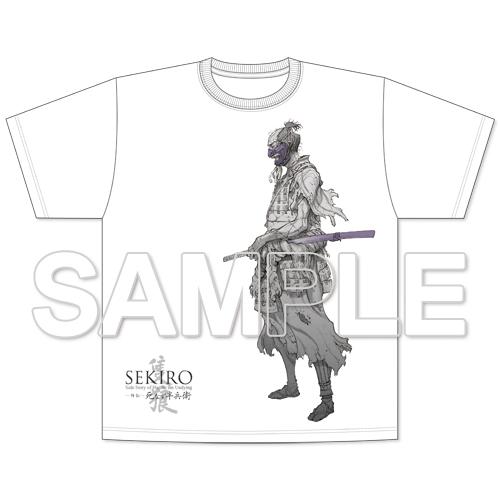 『SEKIRO 外伝 死なず半兵衛』Tシャツ 半兵衛ver. XXLサイズ