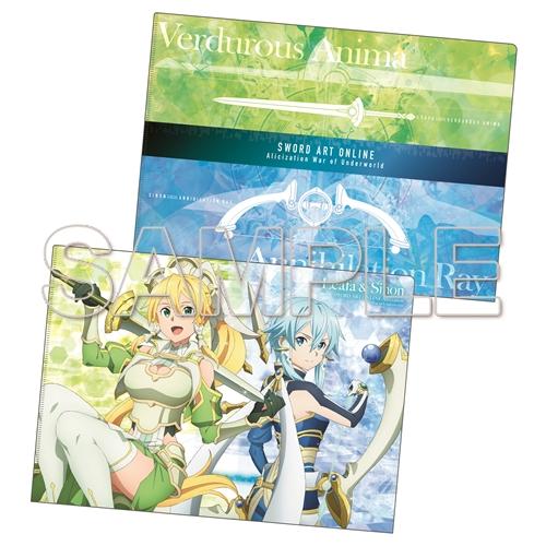 『ソードアート・オンライン』Wweaponクリアファイルシリーズ リーファ×シノン