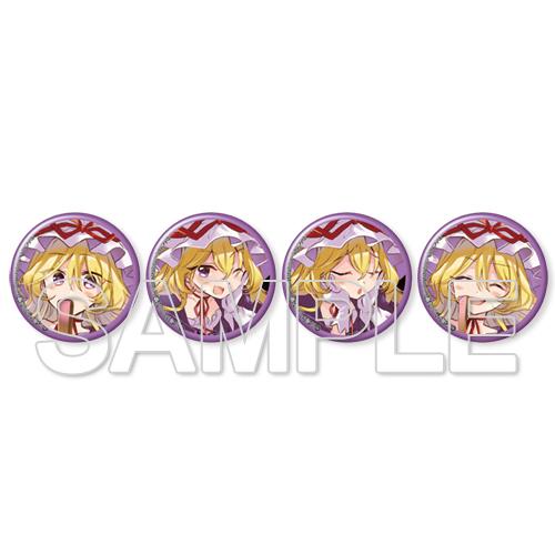 東方Project 八雲紫 缶バッジセット