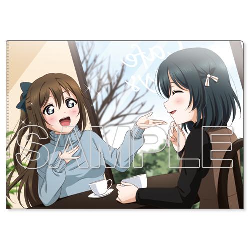 『ラブライブ!虹ヶ咲学園スクールアイドル同好会』クリアファイル しずく&栞子
