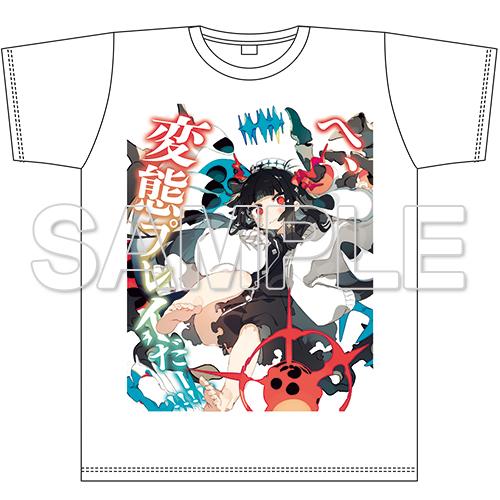 『ブレイブソード×ブレイズソウル』エアコミケ2限定Tシャツ ジャガーノート=ロスト L