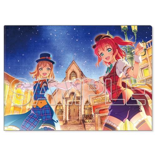 『ラブライブ!サンシャイン!!』クリアファイル Aqours 花丸&ルビィ