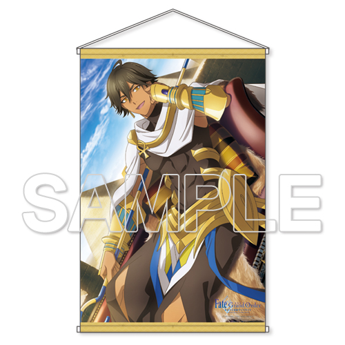 『Fate/Grand Order -神聖円卓領域キャメロット-』オジマンディアスB2タペストリー