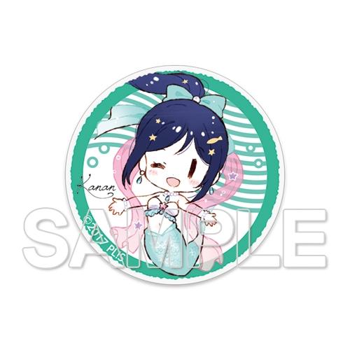 ラブライブ!サンシャイン!!School idol diary アクリルステッカー〜9 mermaids☆〜 松浦果南