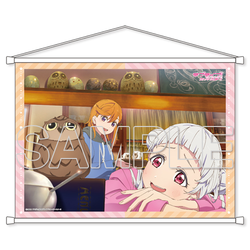 『ラブライブ!スーパースター!!』2人の時間!〜Special times〜 B2タペストリー Ver.かのん&千砂都