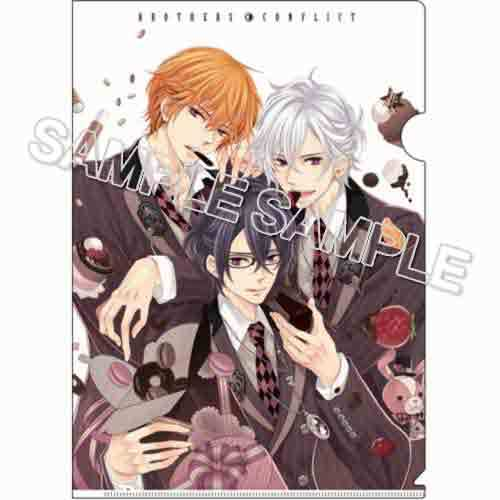 『BROTHERS CONFLICT』クリアファイル