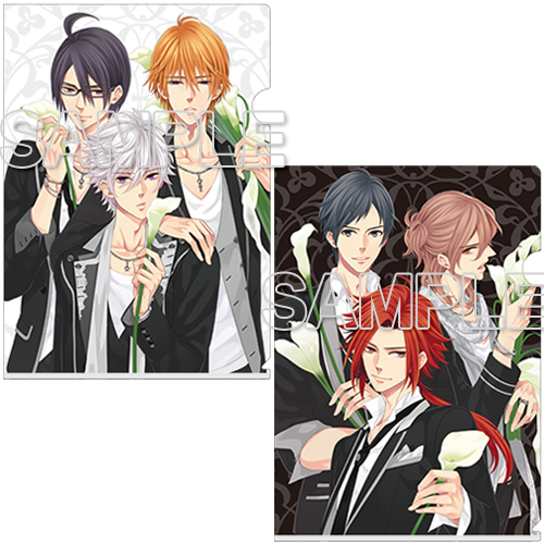 『BROTHERS CONFLICT』クリアファイルセット ブラック&ホワイト