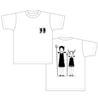 『苺ましまろ』Tシャツ im06ts_w 虫歯菌柄 S