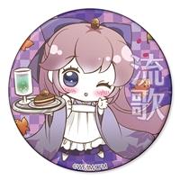 初音ミク『小説 千本桜』ちりめん缶ミラー 巡音流歌