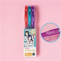 『ラブライブ!サンシャイン!!』サラサクリップ0.5 カラーボールペン Ver.3年生