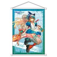 『Wonderland Wars』オリジナル称号&カスタムチャット特典付きB2タペストリー リトル・アリス