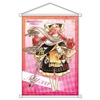 『Wonderland Wars』オリジナル称号&カスタムチャット特典付きB2タペストリー ミクサ