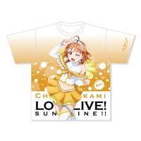 『ラブライブ!サンシャイン!!』フルグラフィックTシャツ 高海千歌