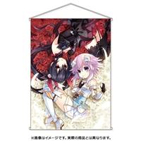 『四女神オンライン』B2ダブルスエードタペストリー ネプテューヌ&ノワールVer.
