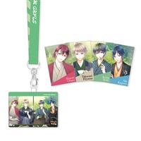 『スタンドマイヒーローズ』パスケース&胸キュンアフター5メッセージカードセット(Revel)