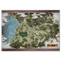 『閃の軌跡III』エレボニア帝国地図ファブリックポスター