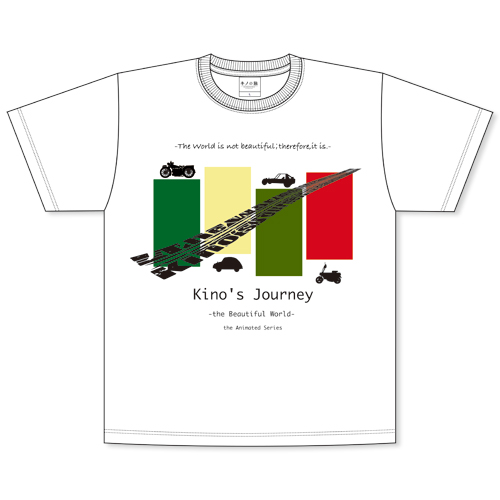 『キノの旅 -the Beautiful World- the Animated Series』Tシャツ S