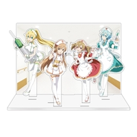 『ソードアート・オンライン』ゲームシリーズ5周年記念アクリルジオラマ Ver.B