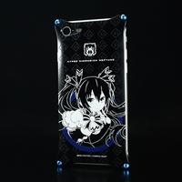 『ネプテューヌ』 ジュラルミンiPhone8/7ケース ノワールVer.