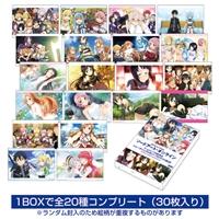 『ソードアート・オンライン』ゲームシリーズ5周年記念 トレーディングメモリーブロマイド BOX