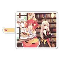 デンパ姉妹 手帳型スマートフォンケース みみみ&びびびVer.