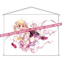白もち桜描き下ろし 画集カバー娘の恥ずかしいところが見えちゃうタペストリーX-RATED