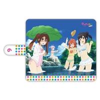『劇場版 のんのんびより ばけーしょん』手帳型スマートフォンケース Ver.みんなで水遊びなのん!
