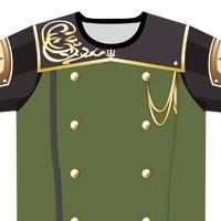 FINAL FANTASY XI 連邦制式礼服風Tシャツ