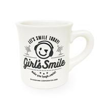「木村良平・岡本信彦の電撃Girl'sSmile」ダイナー風マグカップ