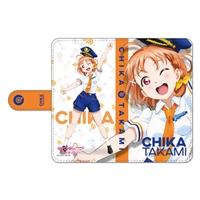 『ラブライブ!サンシャイン!!』手帳型スマートフォンケース 高海千歌 パイロットVer.