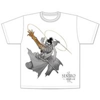 『SEKIRO 外伝 死なず半兵衛』Tシャツ 隻狼ver. XLサイズ