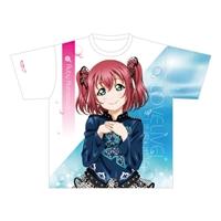 『ラブライブ!サンシャイン!!』フルグラフィックTシャツ 黒澤ルビィ Ver.Fantastic Departure!