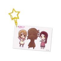 『ラブライブ!サンシャイン!!』アクリルキーホルダー Aqours 梨子&花丸&鞠莉[4]