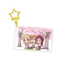 『ラブライブ!サンシャイン!!』アクリルキーホルダー Aqours 梨子&花丸&鞠莉[6]