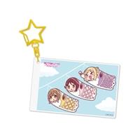 『ラブライブ!サンシャイン!!』アクリルキーホルダー Aqours 梨子&花丸&鞠莉[7]