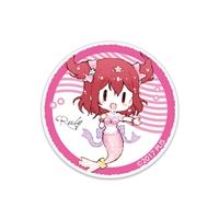 ラブライブ!サンシャイン!!School idol diary アクリルステッカー〜9 mermaids☆〜 黒澤ルビィ