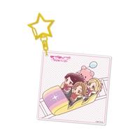 『ラブライブ!サンシャイン!!』アクリルキーホルダー Aqours 梨子&花丸&鞠莉[8]